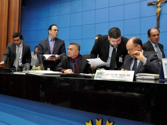 Deputados aprovaram os projetos na sessão desta quarta-feira (Foto: Victor Chileno/ALMS)