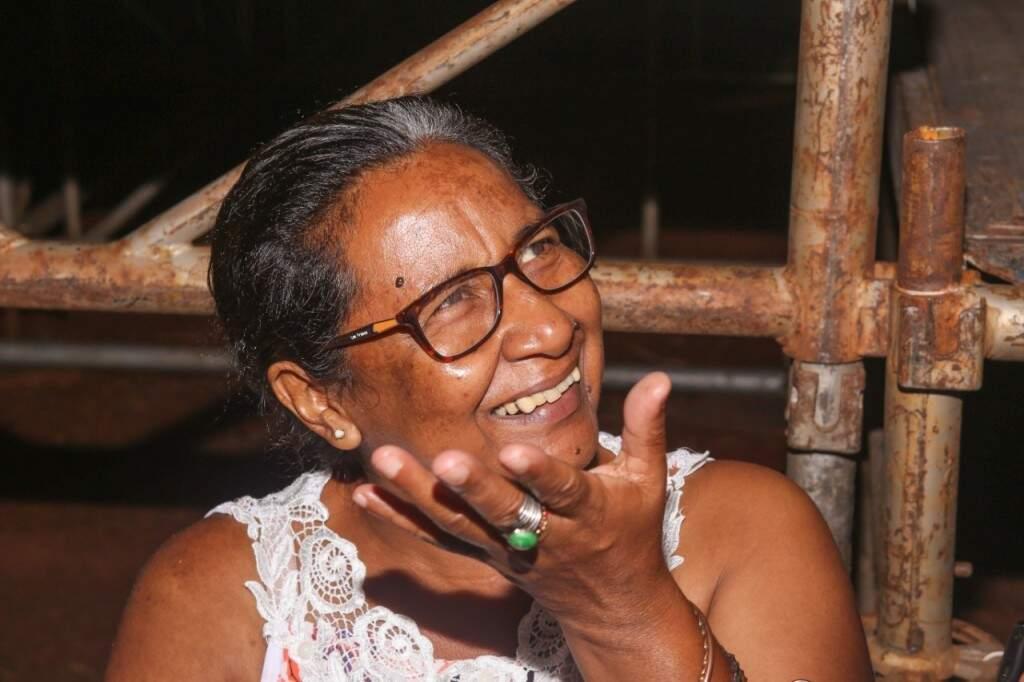 Carla acompanhou a mãe aos desfiles de Carnaval durante toda a vida (Foto: Paulo Francis)
