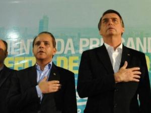 David é apoiador de Bolsonaro em MS e figurou em outdoor ao lado de presidenciável. (Foto: Arquivo)
