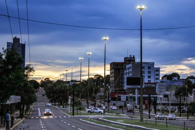 Em Campo Grande, segunda-feira (28) inicia nublada e com mínima de 24ºC. (Foto: Marina Pacheco)