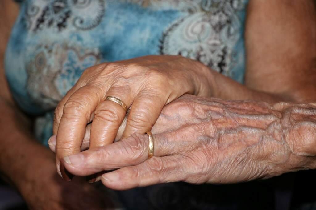 Alianças de casamento ainda são as mesmas de 67 anos atrás (Foto: Kimberly Teodoro)