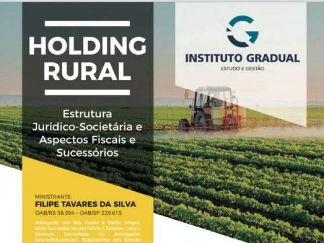 Folder do curso promovido pelo Instituto Gradual (Foto: Reprodução)