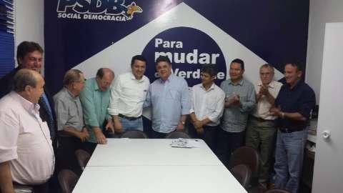 Deputado Elizeu Dionizio  deixa o Solidariedade para se filiar ao PSDB