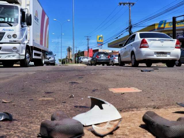 Cruzamento entre as Avenidas Júlio de Castilho e Tamandaré (Foto: Henrique Kawaminami)