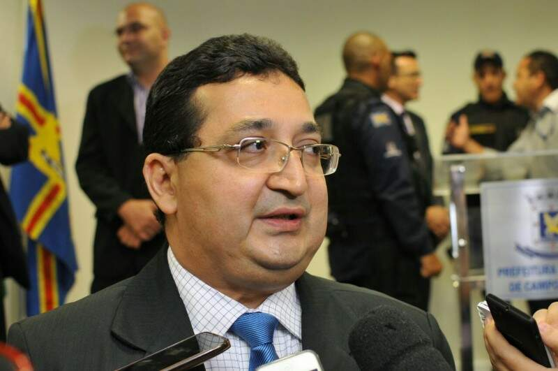 Valério Azambuja, secretário municipal de Segurança Pública (Foto: Alcides Neto)