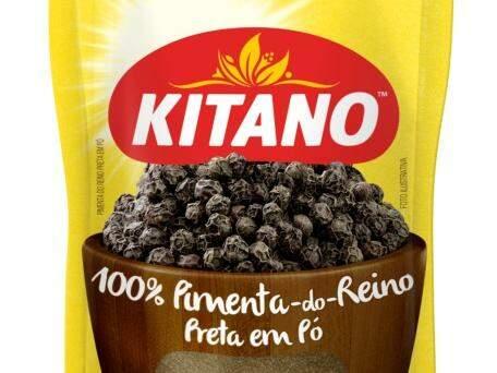 Embalagem da pimenta do reino Kitano (Foto: Kitano/Divulgação)