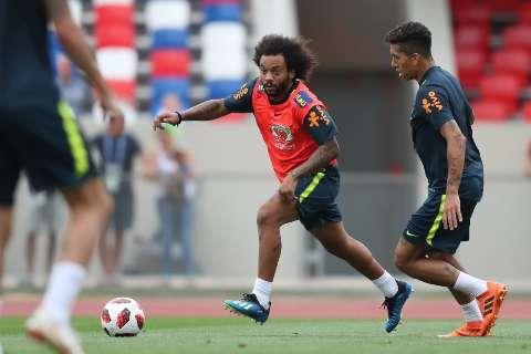 Com Marcelo de volta ao time, Brasil está pronto para encarar a Bélgica