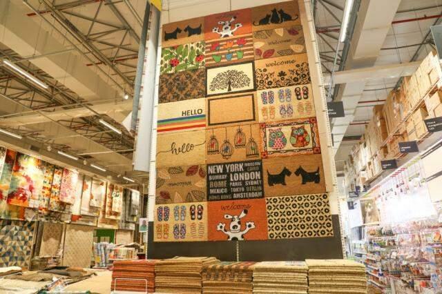 Para a decoração, você encontra do tapete ao papel de parede. (Foto: Marcos Maluf)