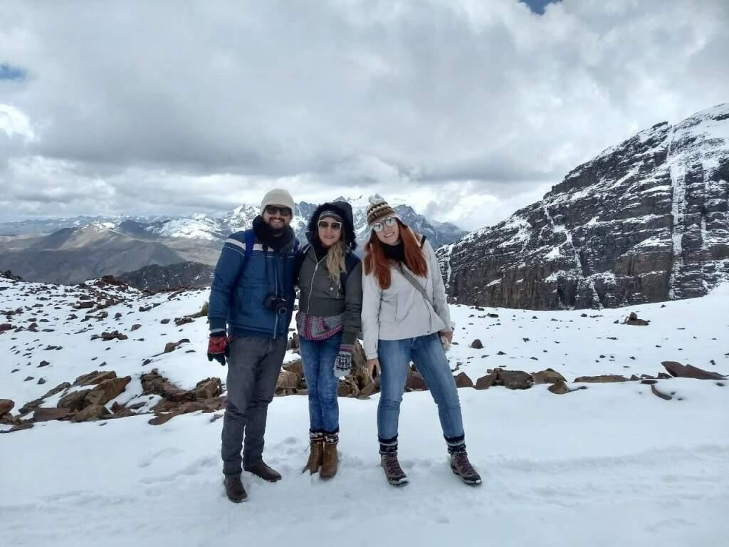 Juliano, Rayssa e Evelyn. (Foto: Arquivo Pessoal)