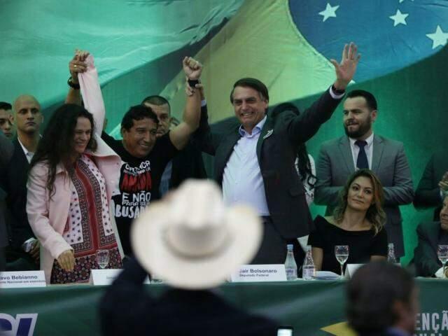 Bolsonaro lidera pesquisa com Haddad no lugar de Lula (Foto: Fernando Frazão/Agência Brasil)