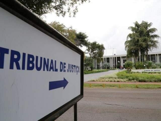 Sede do TJMS, no Parque dos Poderes, em Campo Grande (Foto: Arquivo)