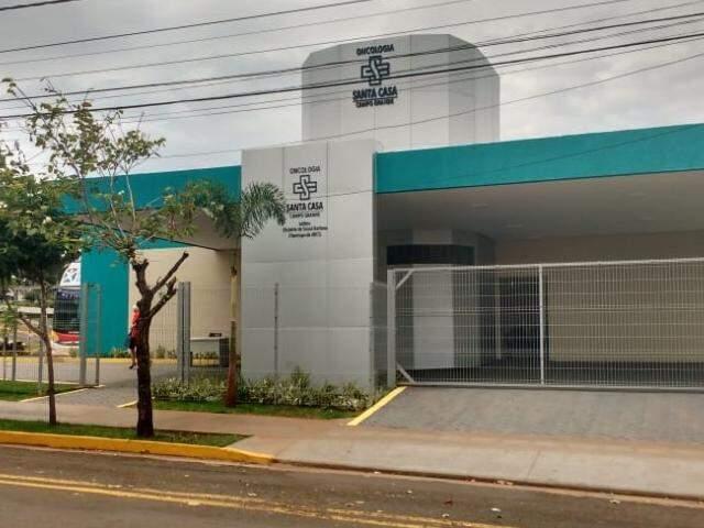 Edifício Elisbério de Souza Barbosa, novo setor de oncologia da Santa Casa (Foto: Fernanda Palheta)