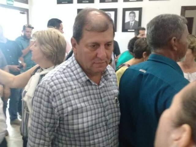 Secretário estadual, Sérgio de Paula, conversou com os candidatos em Brasília (Foto: Leonardo Rocha)