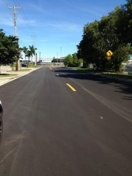 Avenida da Flórida foi recapeada recentamento (Cláudio Dodaro)