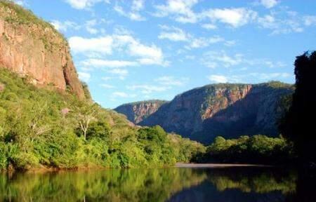Piraputanga reserva paisagens exuberantes para participantes de desafio. (Foto: Fabio Pellegrini)