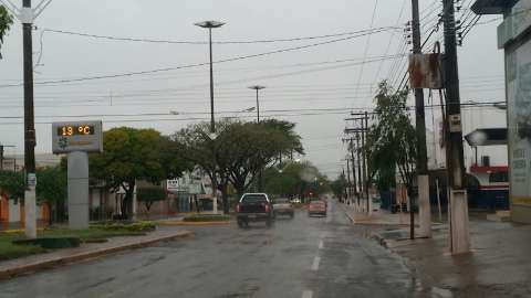 Municípios da região sul registram mais de 30 mm de chuva em um dia