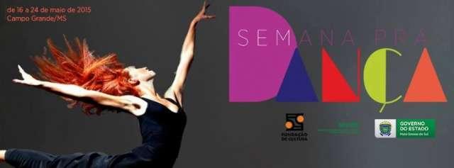 Semana pra Dança começa amanhã com nove dias de espetáculos e debates