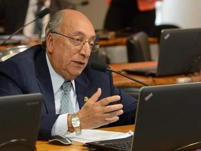 Pedro Chaves desistiu da reeleição ao mandato de senador apontando quebra de acordo com a campanha pedetista. (Foto: Agência Senado/Divulgação)