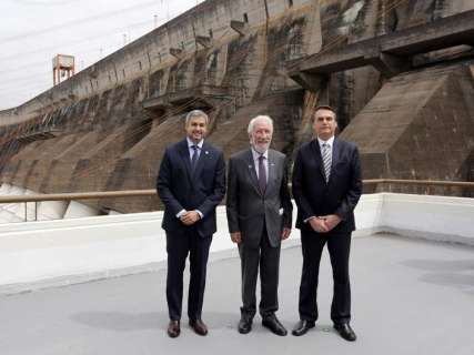 Bolsonaro reafirma construções de pontes entre Porto Murtinho e Paraguai