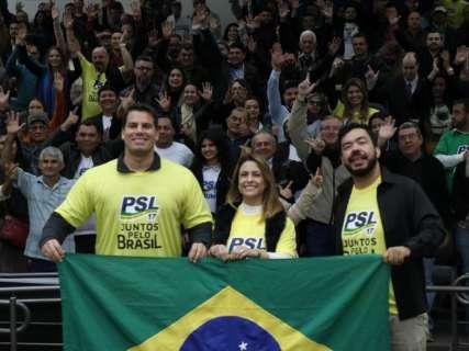 """Com 3 mil filiados em MS, PSL tem futuro incerto com """"debandada"""""""
