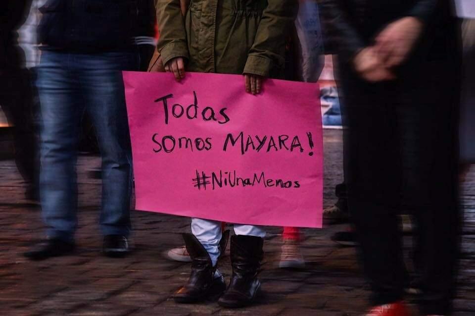 Mayara inspirou feministas em todo o Brasil (Divulgação)