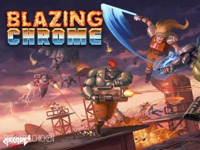 É hora de falar de um novo produto desse mercado: Blazing Chrome.