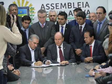 Com redução, diesel em MS será um dos mais baratos do País, diz Reinaldo