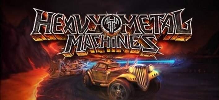 Novo MOBA Heavy Metal Machines é lançado oficialmente no Steam