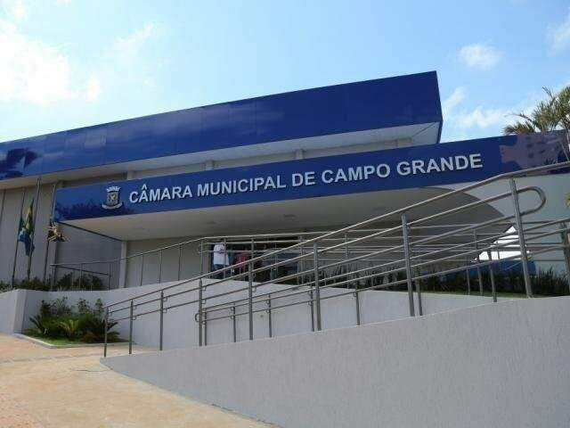 Câmara Municipal de Campo Grande (Arquivo/Campo Grande News)