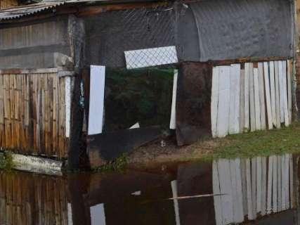 Sete famílias deixam suas casas com início da cheia no Pantanal de MS