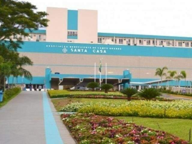 Santa Casa, maior hospital de Mato Grosso do Sul (Foto: Arquivo/Campo Grande News)