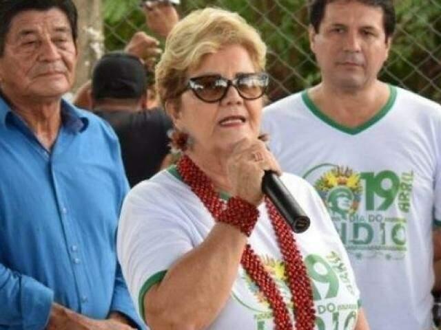 Prefeita Marlene Bossay, uma das homenageadas no vídeo (Foto/Arquivo)