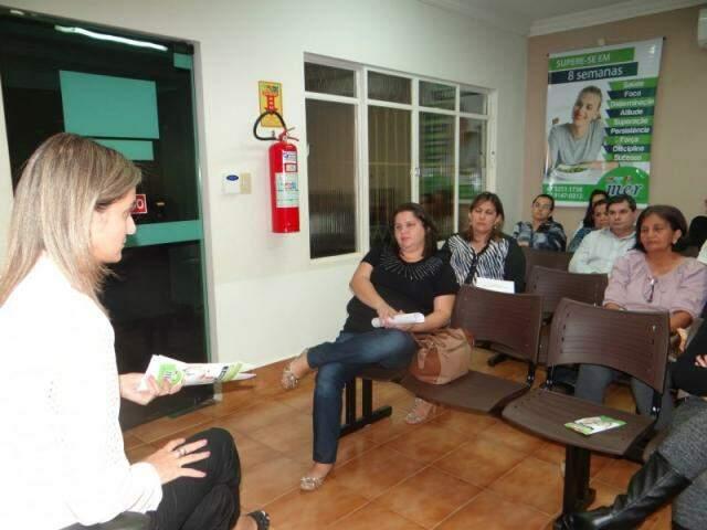Reunião de apresentação. (Foto: Divulgação)