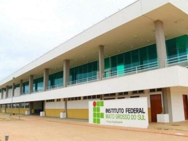 Campus do Instituto Federal de Mato Grosso do Sul em Aquidauana (Foto: Divulgação)