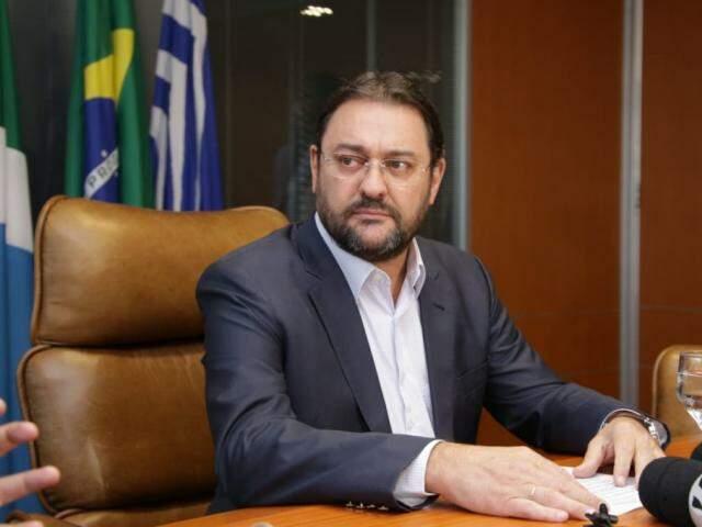 Presidente da Fiems, Sérgio Marcolino Longen, foi alvo da operação Fantoche, da Polícia Federal. (Foto: Kisie Ainoã)