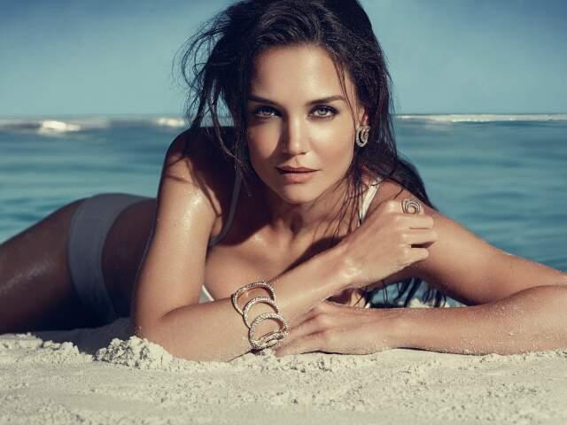 Kate Holmes e bracelete de R$ 273 mil.