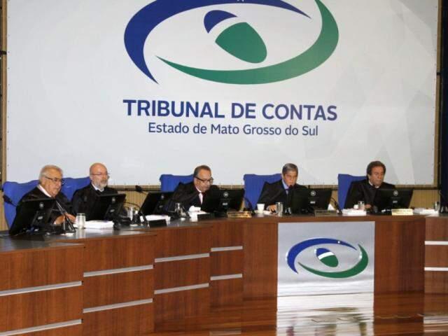 Sessão do Tribunal de Contas Estadual (Foto: Divulgação)