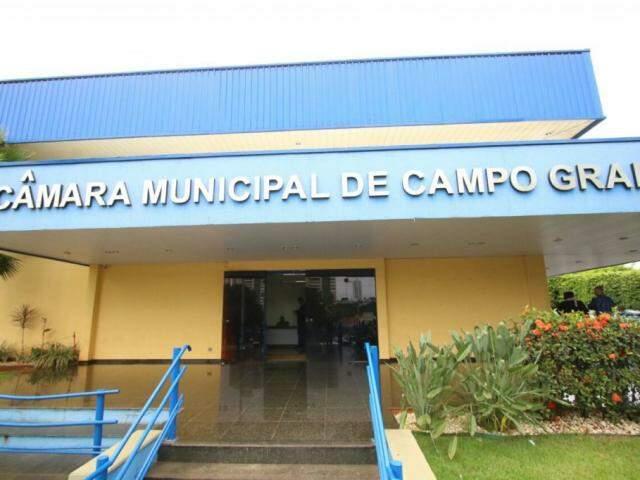 Câmara Municipal de Campo Grande. (Foto: André Bittar).