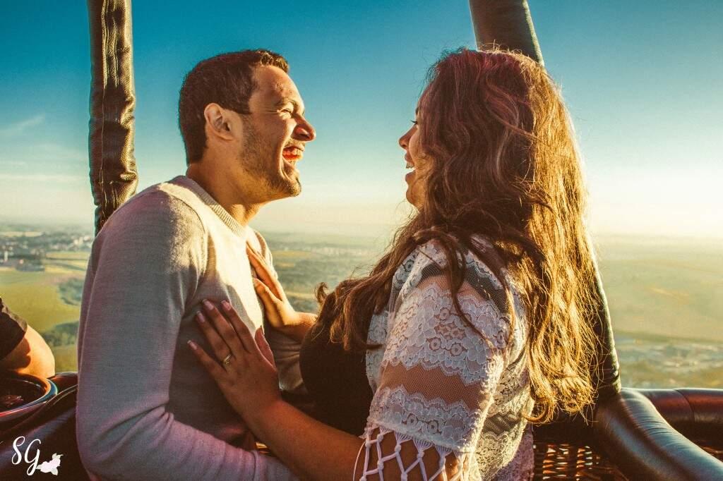 Agora o casal planeja ir para Capadócia. (Foto: Stephanie Gomes)