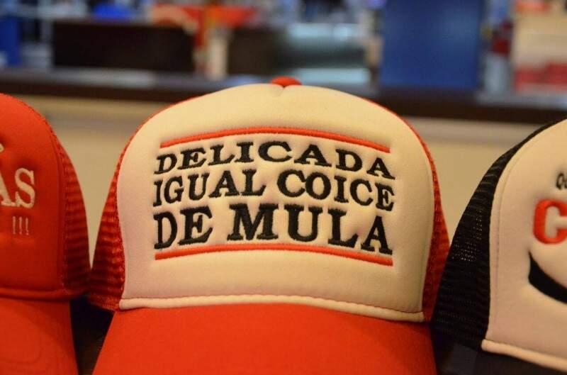 As frases são da cultura sertaneja.  (Foto: Vanessa Tamires)