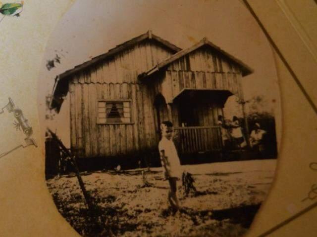 Único registro em que mostra a casa no passado. (Foto: Thaís Pimenta)