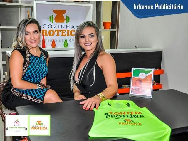 Ana Paula Martone e Viviane Mantilha (Foto: Divulgação)