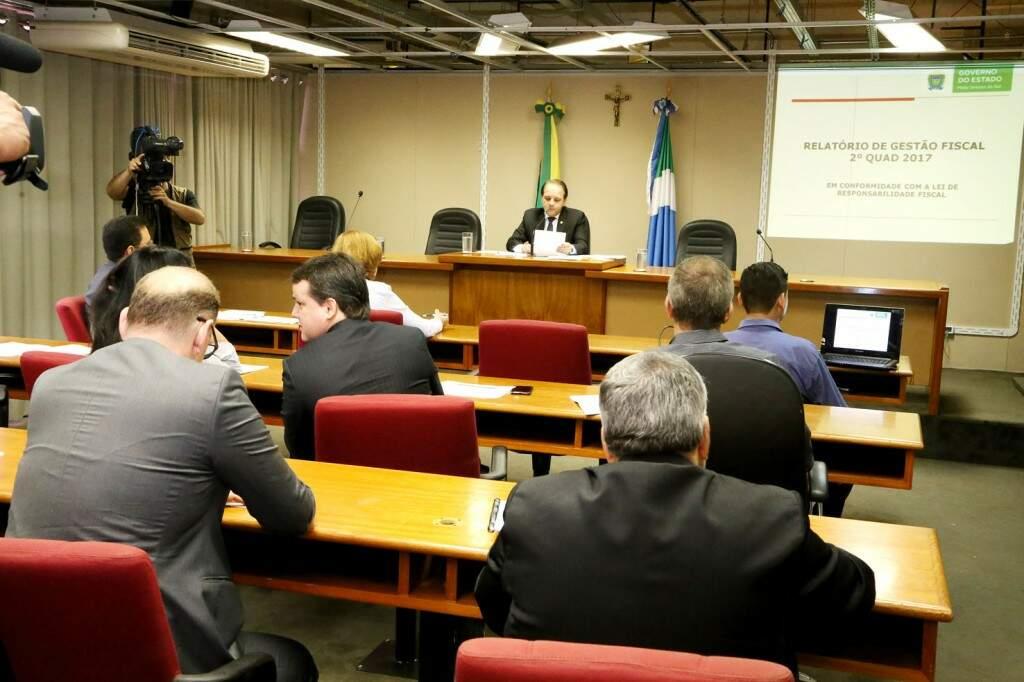 Relatórios foram entregues nesta manhã, na Assembleia Legislativa (Foto: Victor Chileno/ALMS)