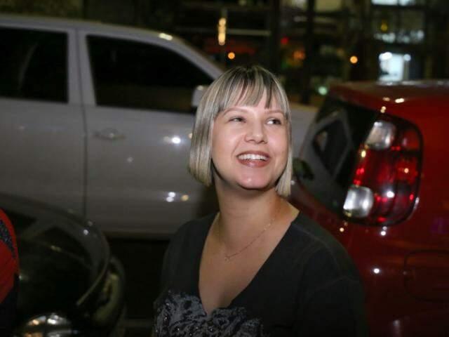 A advogada Nagila Sorti conta que até o garçom deu cantada. (Foto: Paulo Francis)