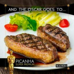 Picanha Super Premium, um dos mais pedidos na casa.