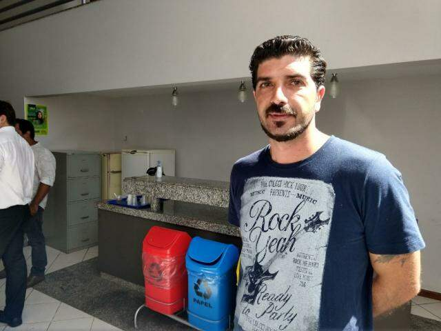 Rodrigo Gomes, coordenador substituto da Funai (Foto: Liniker Ribeiro)