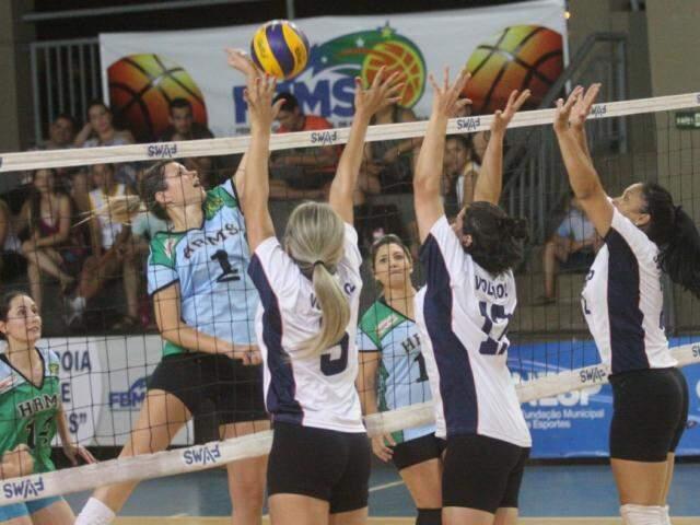 Torneio de voleibol movimenta a agenda esportiva neste fim de semana na Capital (Foto: FVMS/Divulgação)
