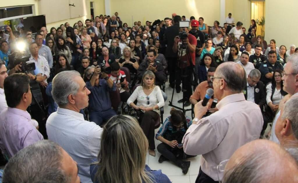 Geraldo Alckmin participou de ato de campanha em Ponta Porã nesta quinta-feira. (Foto: Assessoria de Imprensa)