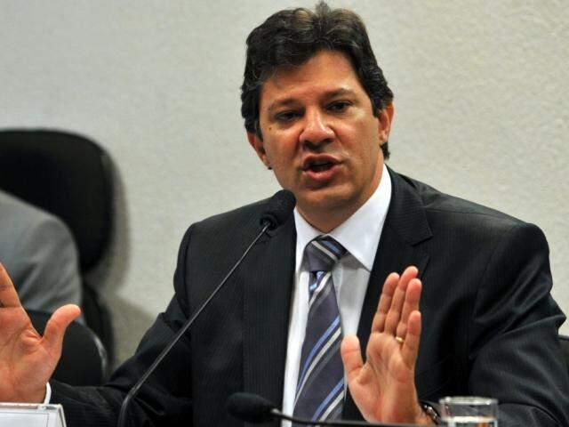 Candidato Fernando Haddad (PT) perde na pesquisa em MS (Foto: Agência Brasil)