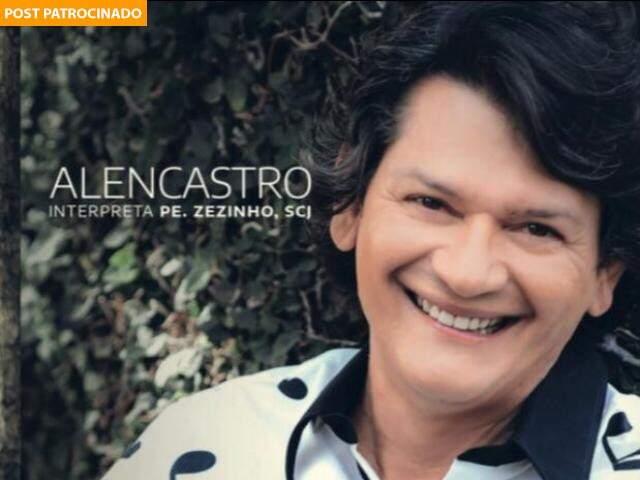 Com talento e sucesso há 40 anos, Alencastro lança um novo CD, interpretando Pe. Zezinho. (Foto: Divulgação)